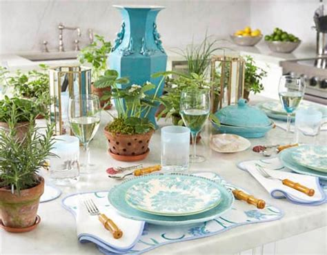 lunch table setting ideas burch table setting ideas