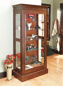Display Cabinets Plans Free Display Cabinet Woodsmith Plans