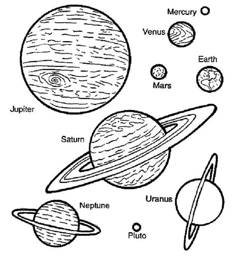 space travel planets coloring pages space travel planets