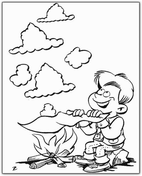 Cub Scout Coloring Pages Bestofcoloring Com Scouts Coloring Pages Free