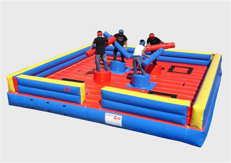 Pedestal Joust gladiator pedestal joust 4 person interactive inflatables and inflatables mutton