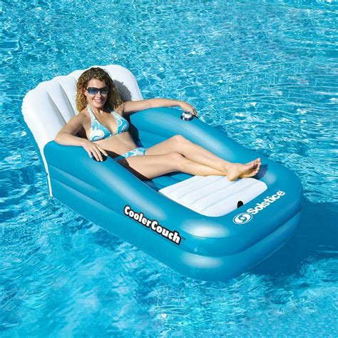 inflatable couch for pool swimline cooler couch oversized inflatable pool lounge