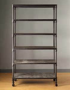shelving for bathrooms renate gray bookcase industrial bookcases by