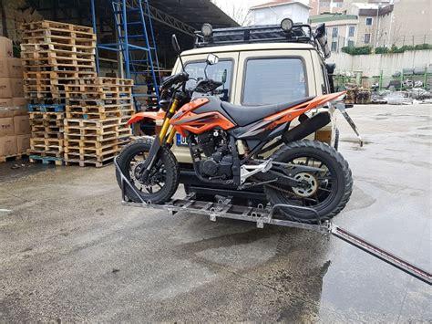 motosiklet tasima aparati yapim ve montaji motosikletclub