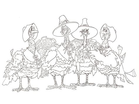 doodle 4 turkey swim yellow duck coloring pages