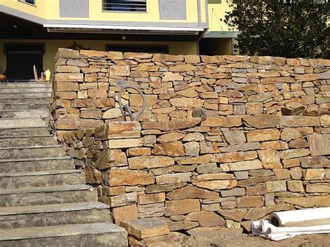 was kosten natursteine trockenmauersteine natursteine trockenmauer blockstufen