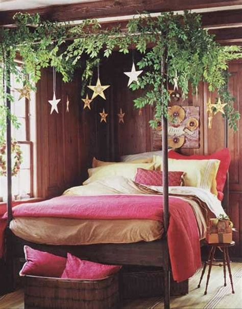 26 Inspiring Christmas Bedroom Design With Fresh Ideas Decoration For Bedrooms