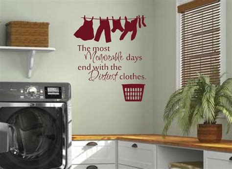 Washroom Laundry Room Wall Decals Home Balcony Wall Vinyl Wall Posters For Room