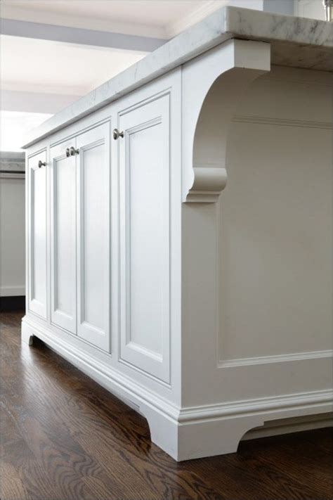 Kitchen Cabinets Milwaukee simple yet elegant handcrafted corbels on the island