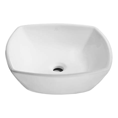 home white vessel decolav classically redefined vessel in white 1435