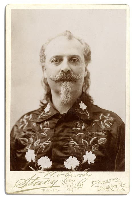 Cabinet Cards by Lot Detail Buffalo Bill Cabinet Card Photo