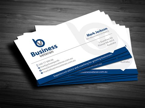 free business card templates australia modern serious business card design design for