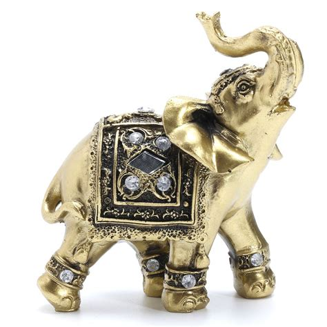 elephant statue resin decorative figurines elephant with
