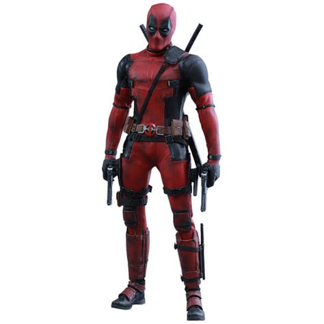 12 Inch Figure Collectibles toys marvel iron deadpool 12 inch figure merchandise zavvi