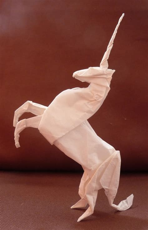 How To Make Paper Unicorn - origami unicorn 4 by gescheitert on deviantart