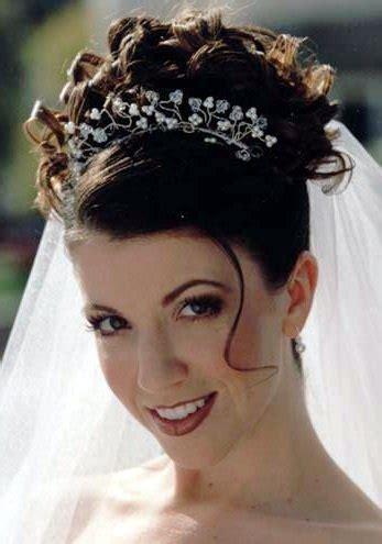 imagenes de peinados y vestidos de novia peinados para novias con pelo rizado