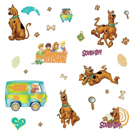 scooby doo wall stickers scooby doo wall stickers removable bedroom decor
