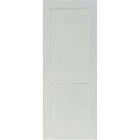 home depot 2 panel interior doors krosswood doors 30 in x 80 in craftsman shaker primed
