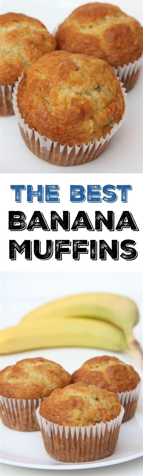 best banana muffins the best banana muffins great banana flavor moist and