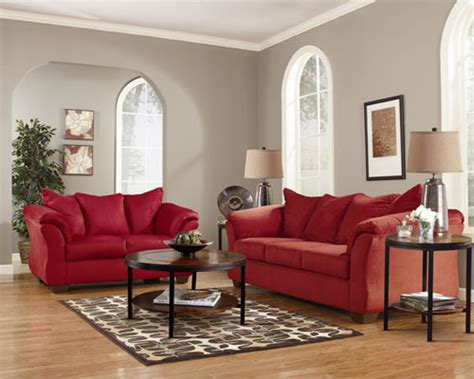 Rent A Center Living Room by Rent Quot Darcy Salsa Quot Sofa And Loveseat