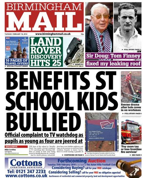 Birmingham Mail Section by As It Happened Birmingham And West Midlands News And