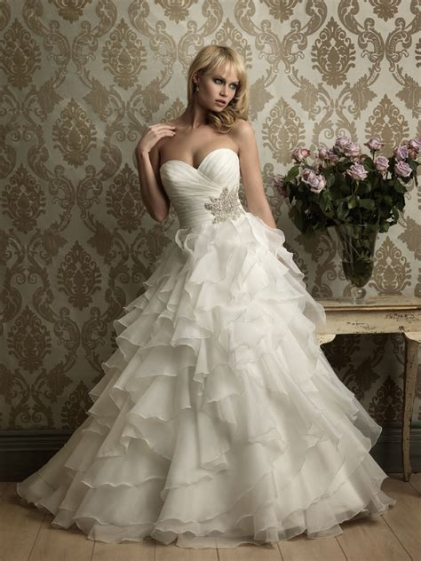 ruffles are great wedding dress trend bridal