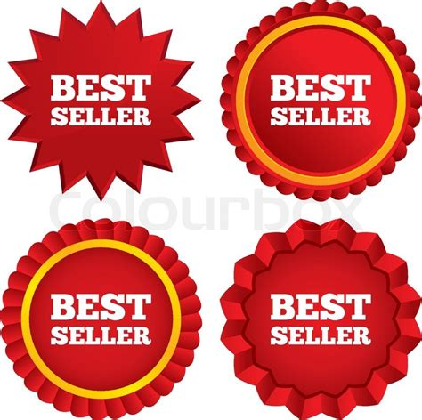 best seller sign icon best seller award symbol