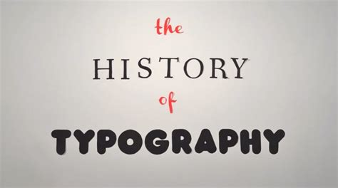 typography history the history of typography animated typographers section wayne state blogs