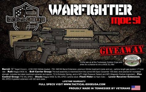 Tactical Giveaway - outdoor expo vendors and giveaways clarksvillenow com