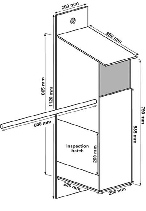 how to make an owl box owl boxes nestboxes the rspb