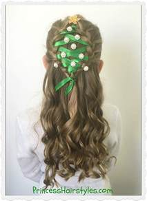 hairstylese com christmas tree hairstyle hairstyles for girls princess