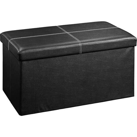 walmart ottomans walmart ottoman storage rectangle storage ottoman black