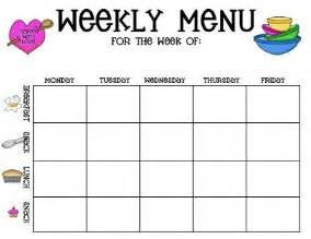 daycare menu template childcare menu plan template created with the childcare