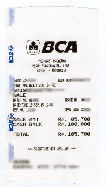 pembayaran batik air via atm bca pembayaran tagihan pdam tirta raharja di indomaret