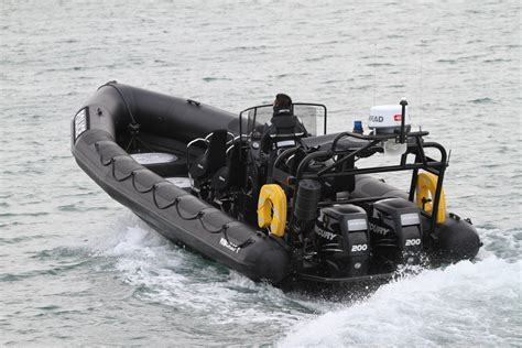 rib boats yeovil military police patrol ribcraft ribs rigid