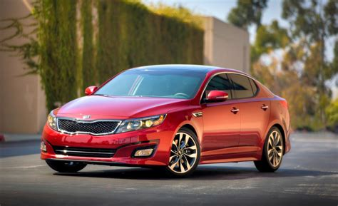 2014 Kia Optima Car And Driver