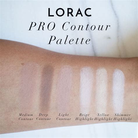 Lorac Cosmetic Pro Contour Pallete 175 best images about lorac swatches on stains