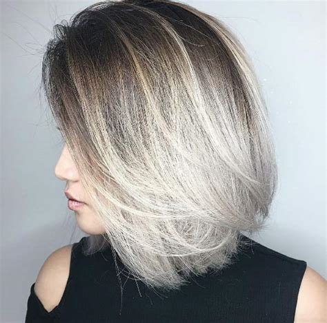 camaflauge grey hair with ombre 60 sleek short hairstyles you simply can t miss style