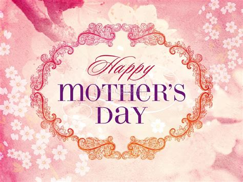 Religious Mothers Day Card Template by Happy S Day Christian Powerpoint Template Mothers