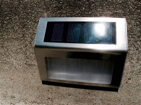outdoor solar step lights stuck on solar lights make steps shine homejelly
