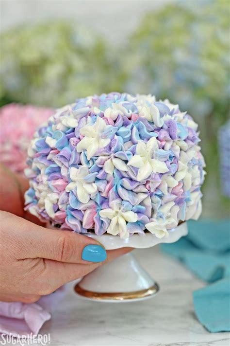 hydrangea cake elizabeth labau food writer recipe developer sugar hero