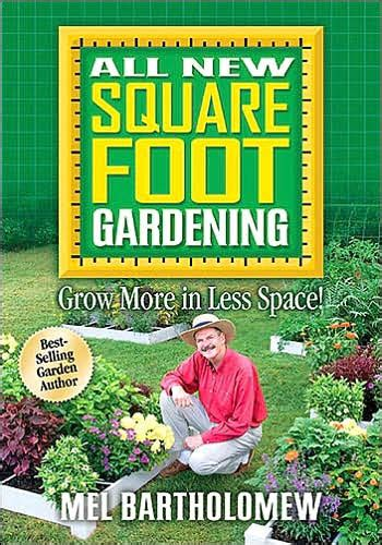 Square Foot Gardening Book by Ideas For Maximizing Your Garden Space Organic