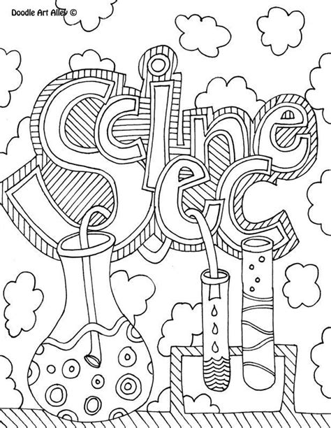 chemistry coloring pages coloring home
