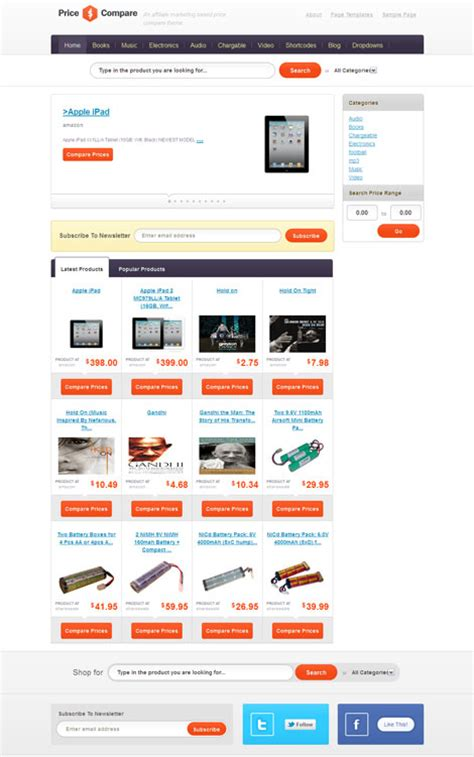 amazon affiliate templates download free paulthepiratebay