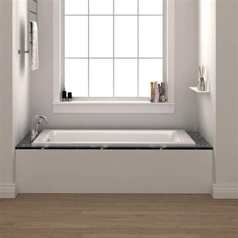 54 drop in bathtub fine fixtures drop in 54 quot x 30 quot soaking bathtub reviews