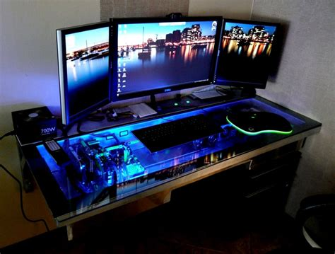 best desk for pc gaming best computer desk for gaming ohgaming network