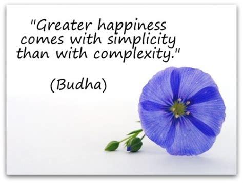 Buddha Simplicity Quotes
