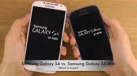 Samsung Ace 3 Vs S3 Mini samsung galaxy s4 vs samsung galaxy s3 mini which is