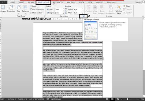 memberi nomor halaman pada file pdf cara memberi nomor halaman otomatis di microsoft word