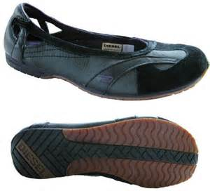 diesel flat shoes diesel ballerikah womens shoes ballet flats new ebay